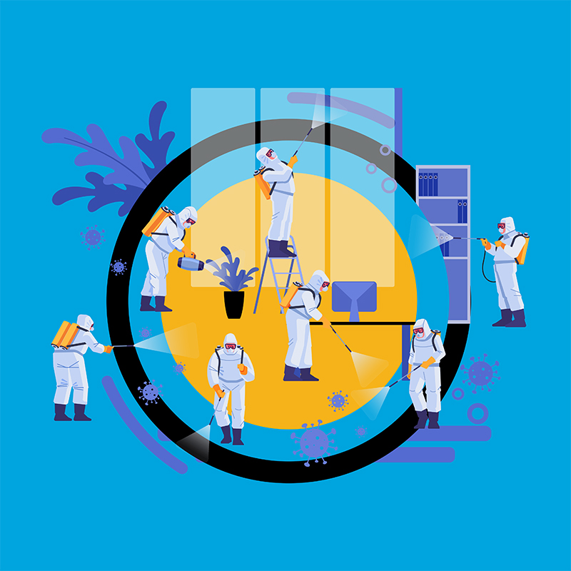 360 Degree Coronavirus Disinfection