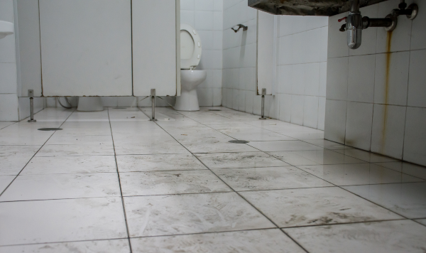 Dirty Restroom